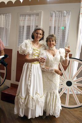 Cairns Ballroom Dancing Club socials : Sue Howarth, Ruth Schaefer  Pic. Watt Michael